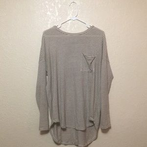 Stripped Old Navy long sleeved shirt